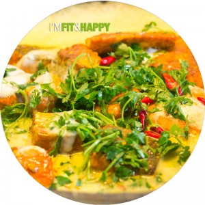 Wild Caught Sockeye Salmon Curry | I'm Fit & Happy