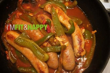 I'm Fit & Happy | Sausage & Peppers